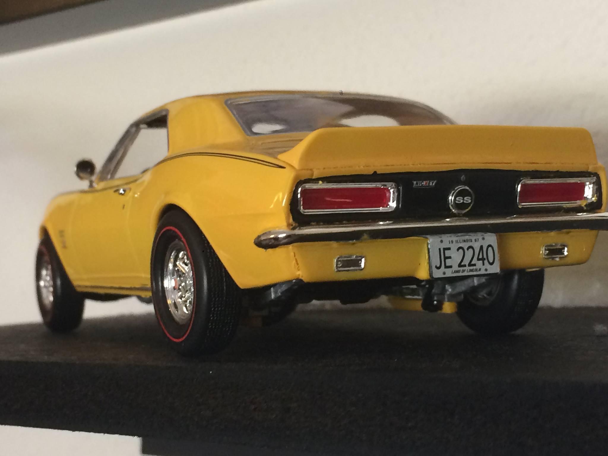 Nickeycamaro on 1967 Chevrolet Camaro Ss