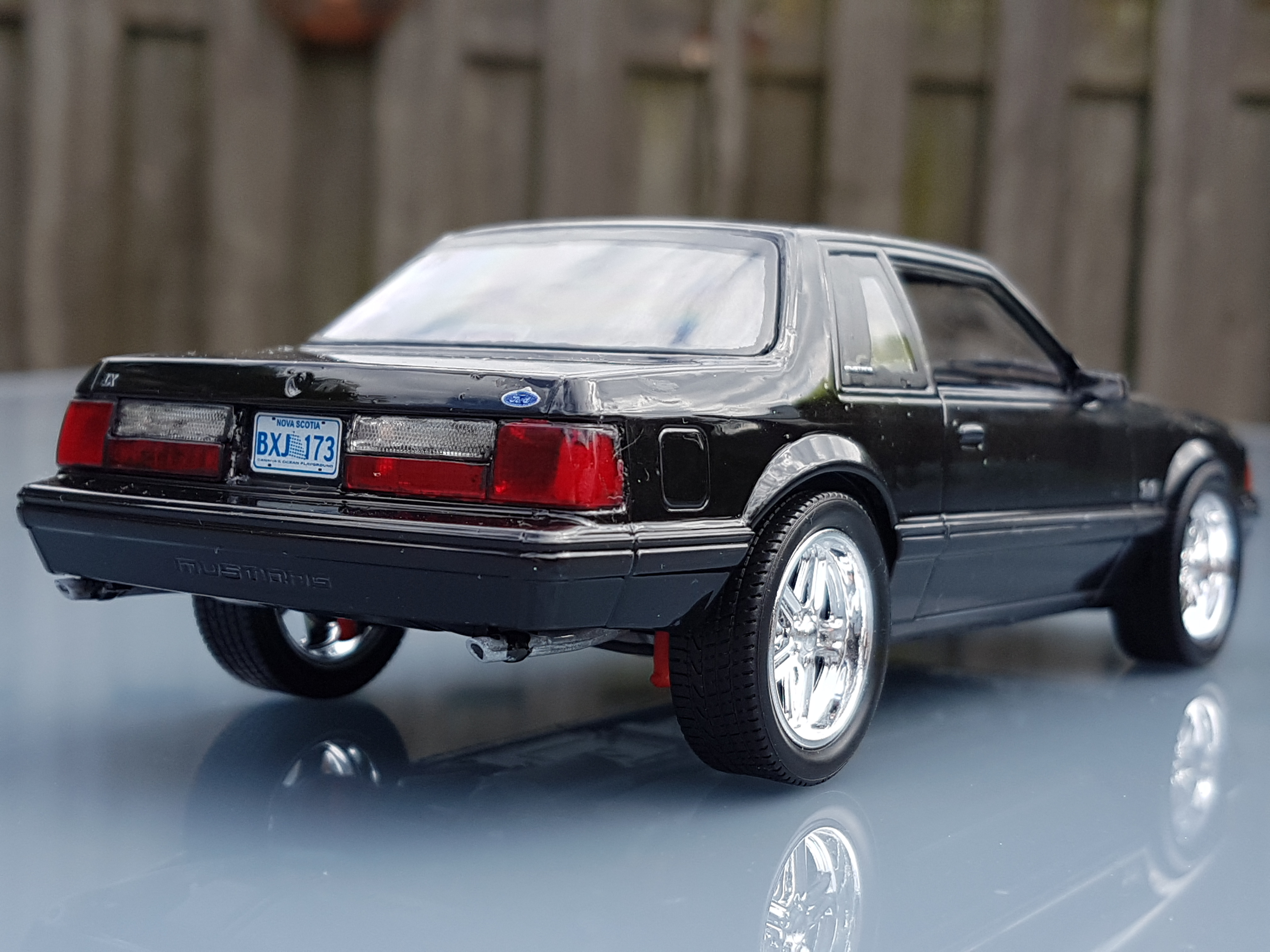 1990 ford mustang lx 5 0 revell rays kits. Black Bedroom Furniture Sets. Home Design Ideas