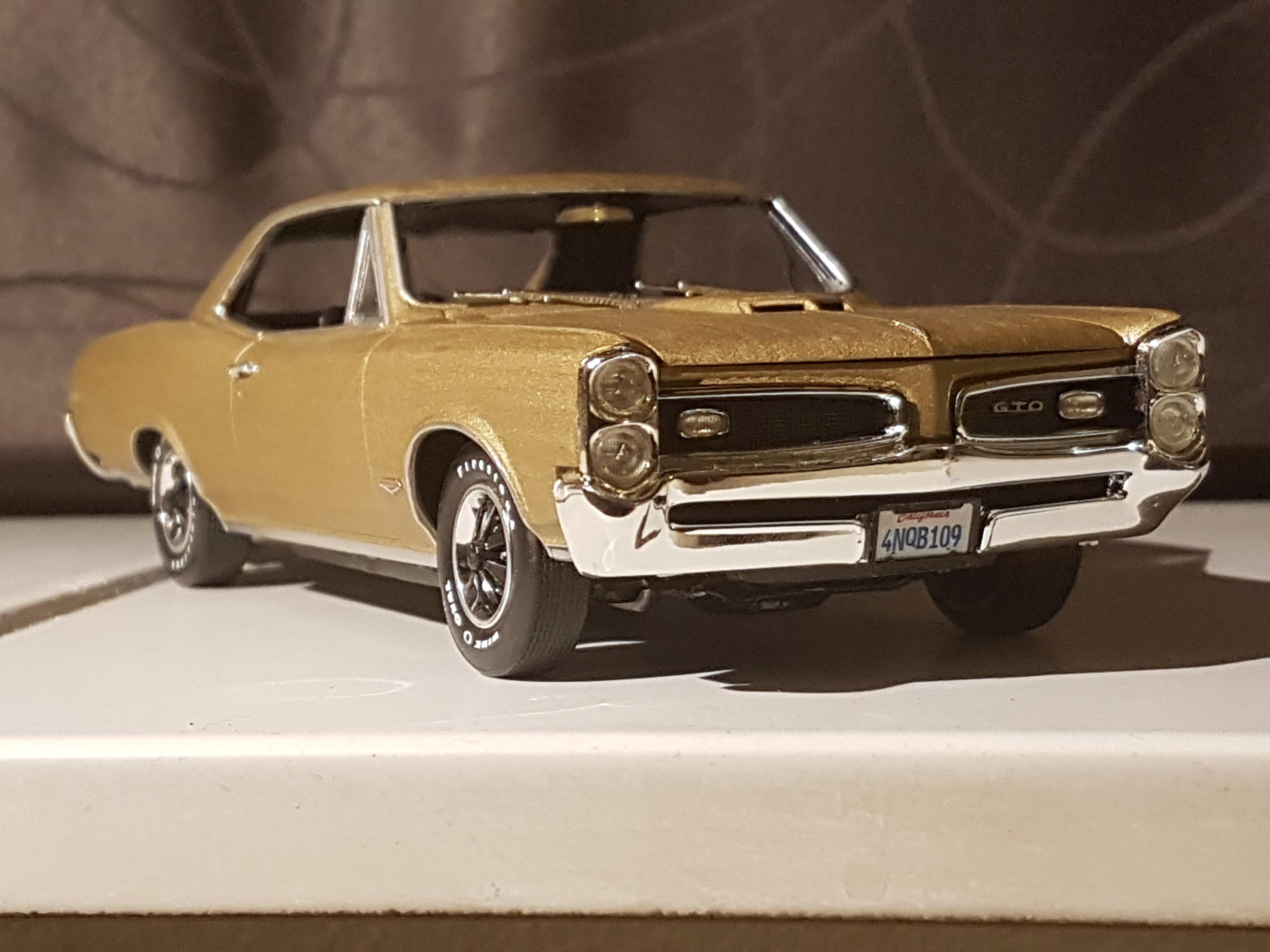 1966 Pontiac Gto Revell Rays Kits