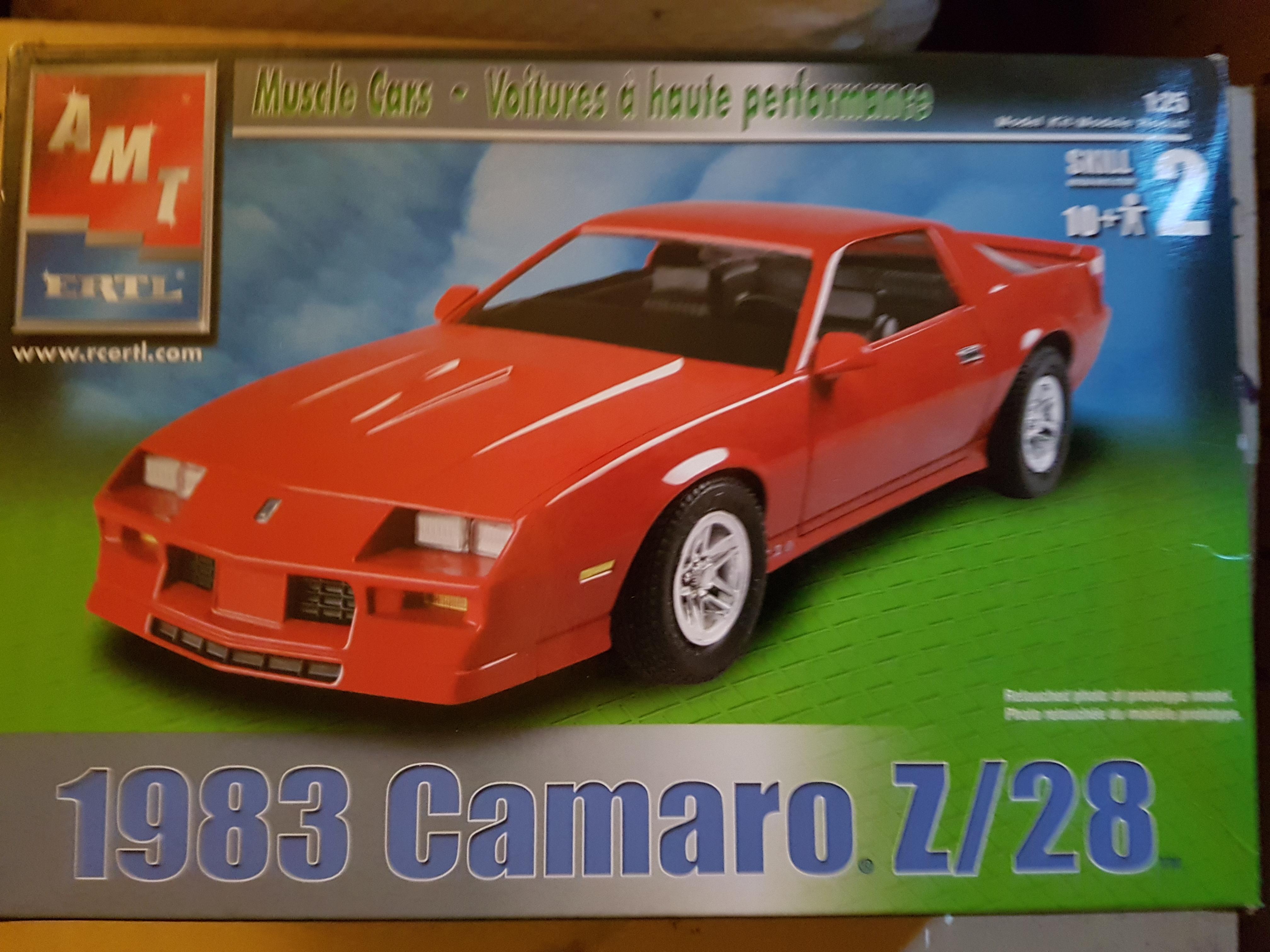 1983 Chevrolet Camaro Z 28 Amt Ertl Rays Kits