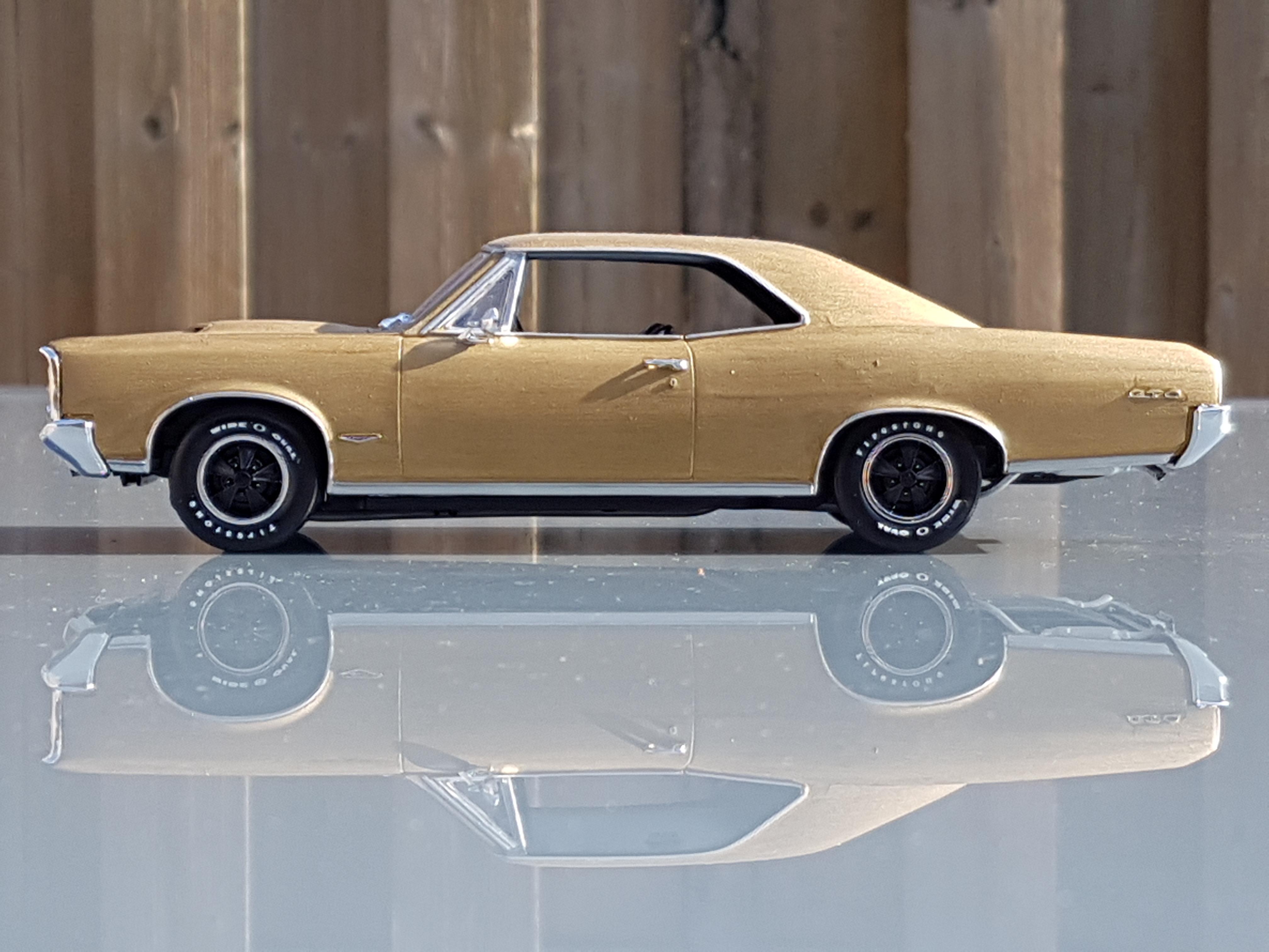1966 pontiac gto revell rays kits. Black Bedroom Furniture Sets. Home Design Ideas