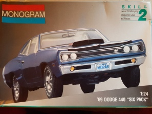 1969 Dodge Super Bee 440 Six Pack – Monogram | Rays Kits