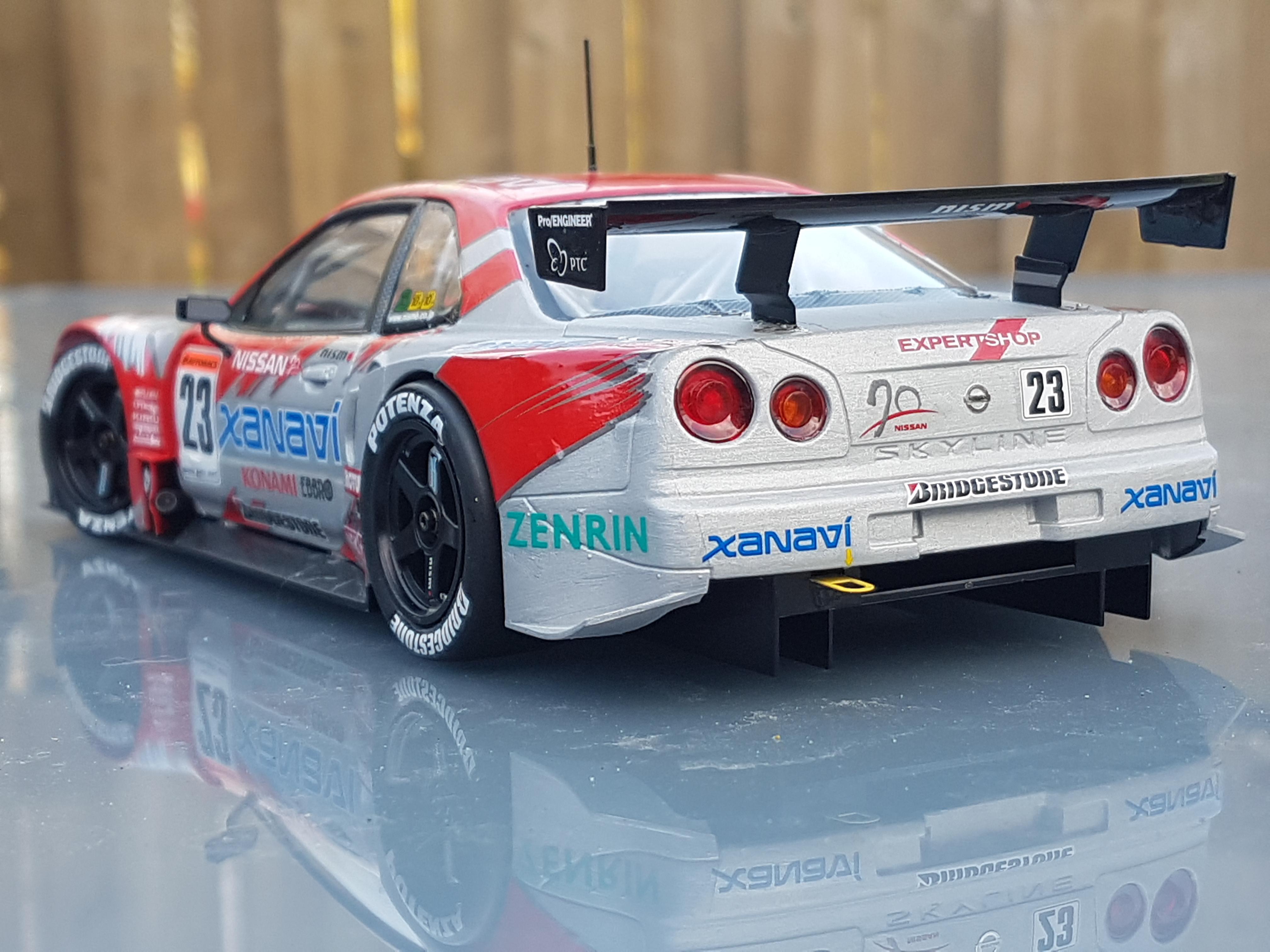 2003 XANAVI Nissan Skyline Nismo GT-R(R34) – Tamiya | Rays Kits