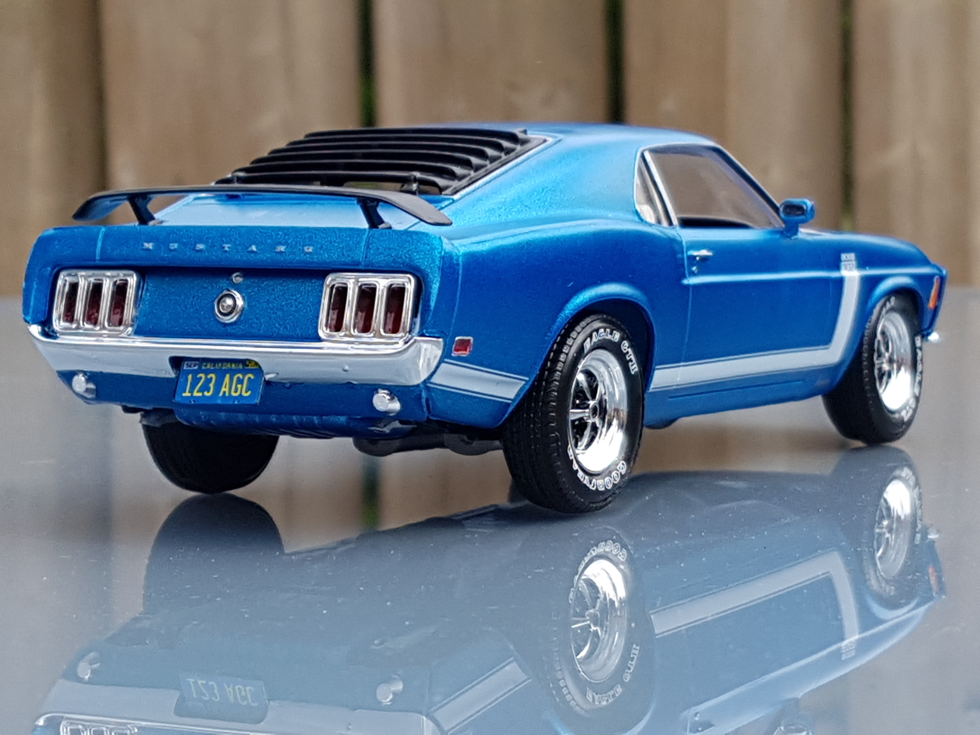 1970 Ford Mustang Boss 302 Revell Rays Kits