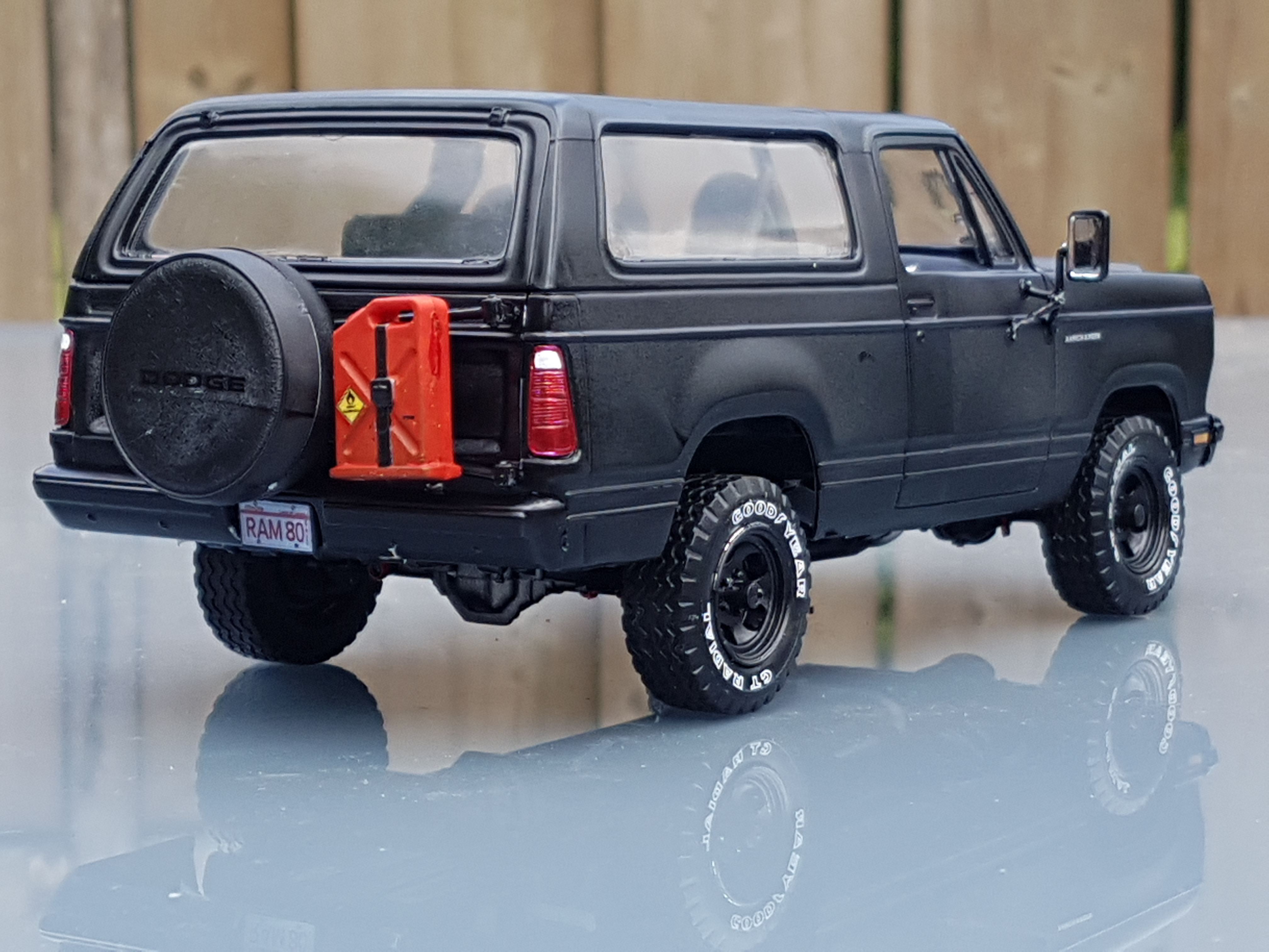1980 Dodge Ramcharger Revell Rays Kits Truck Parts