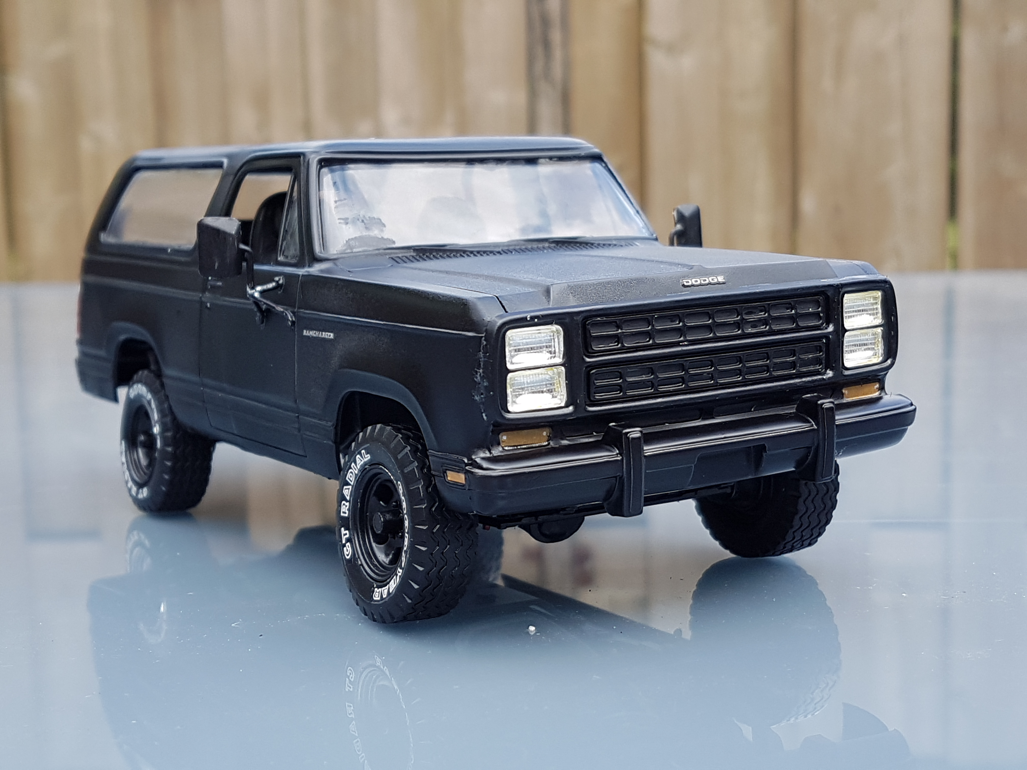 1980 Dodge Ramcharger Revell Rays Kits Ford Bronco Blue