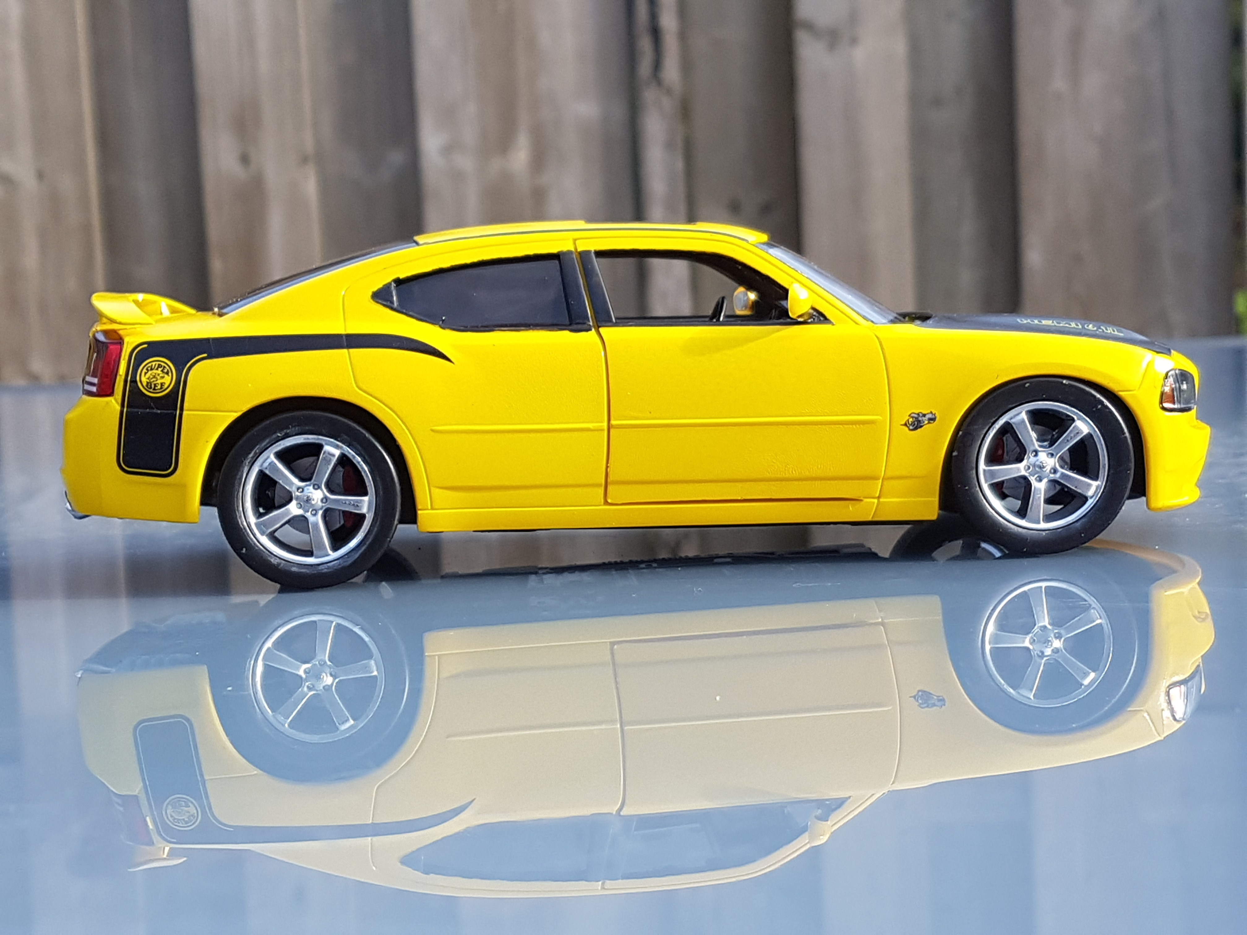 2007 Dodge Charger Srt8 Super Bee Revell Rays Kits