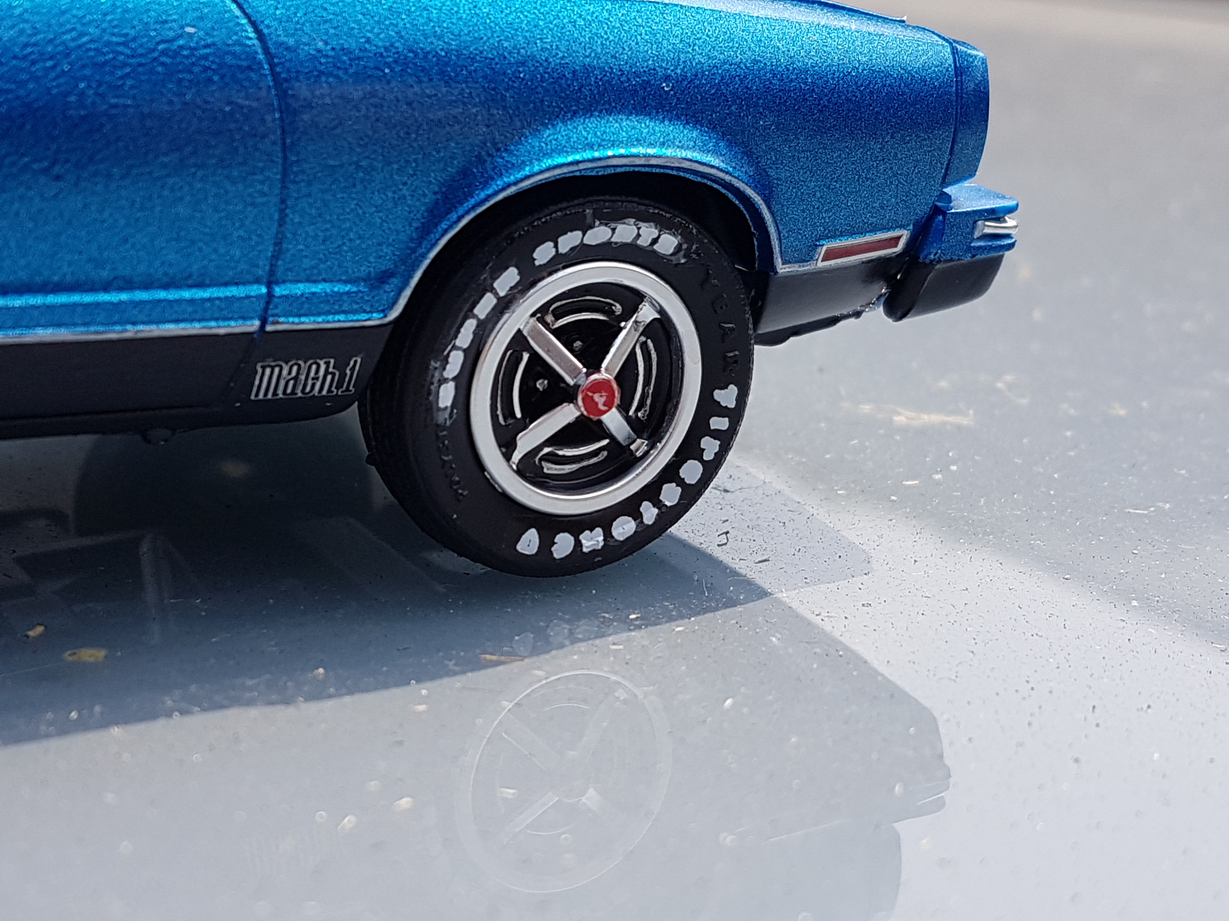 1977 Ford Mustang II Mach 1 – AMT
